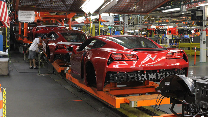 Final Corvette Rolls Off the Old Assembly Line at the Bowling Green Assembly Plant