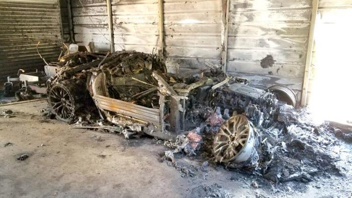 Arson Destroys a $100,000 Corvette Z06 in Georgia