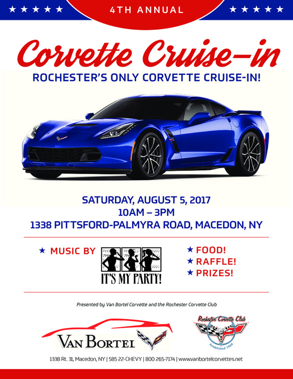 Join Van Bortel Chevrolet for their 4th Annual Cruise-In on Saturday!