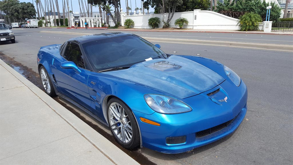 pics no love for this c6 corvette zr1 corvette sales news lifestyle. Black Bedroom Furniture Sets. Home Design Ideas