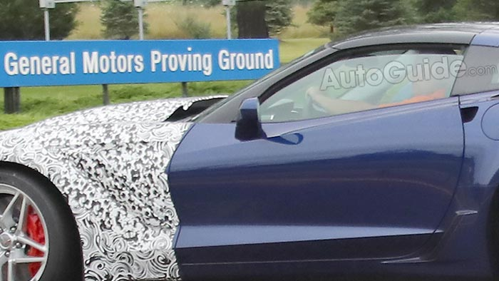 The 2018 Corvette ZR1 Spotted at the Milford Proving Grounds