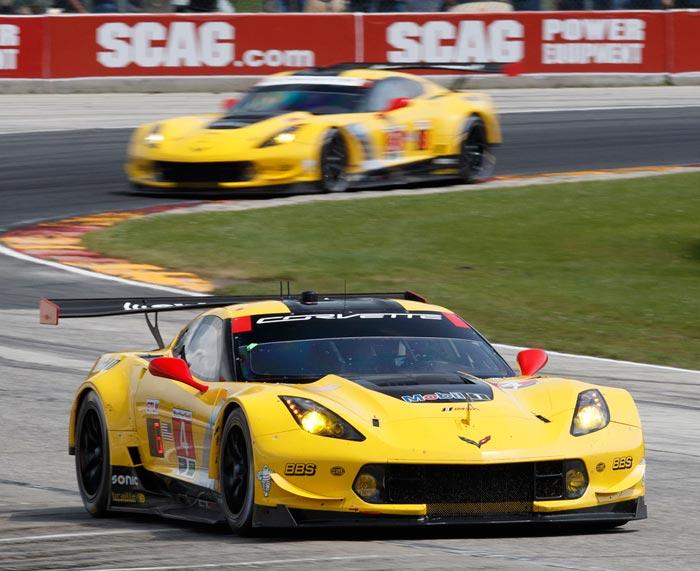 Corvette Racing at Road America: No. 3 Corvette Retains Points Lead