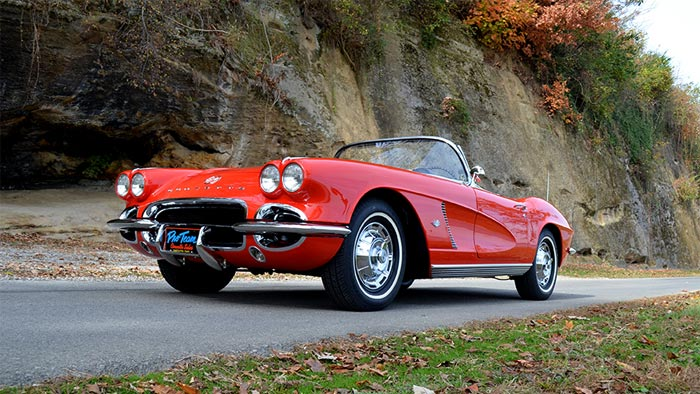 Do You Have Your Tickets for the Saint Bernard's Classic Corvette Raffle?