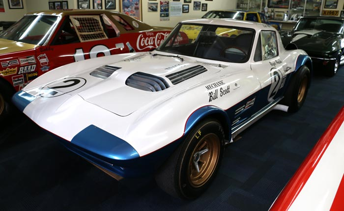 [VIDEO] Bill Tower's Walk-Around of the 1963 #005 Corvette Grand Sport