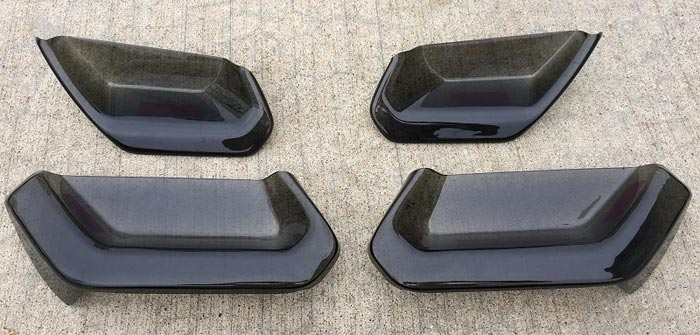 Molded Acrylic Tail Light Blackout Kit from PFYC