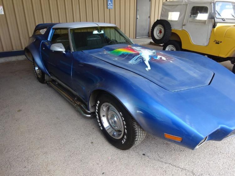 Unicorn 1971 Corvette Wagon Offered in Texas Estate Sale - Corvette: Sales, News & Lifestyle