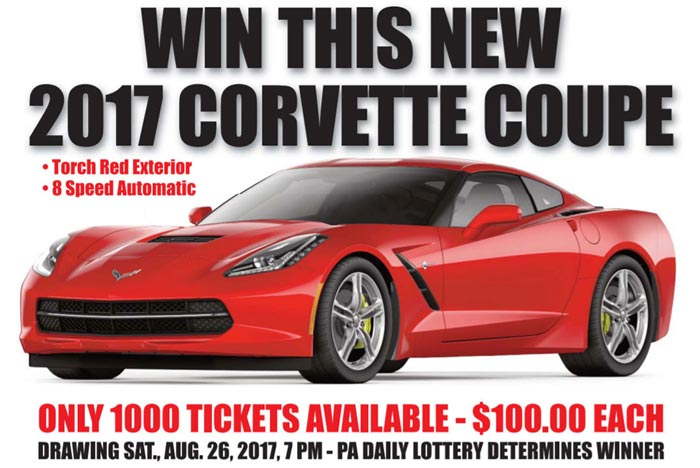 Win a 2017 Corvette at Covettes at Carlisle in Support of Chip Miller