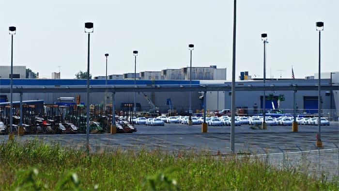 [PIC] New Corvettes Still Remain at the Corvette Assembly Plant