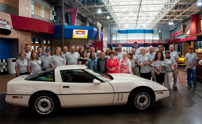 Family and Friends of Don Oliverio Donate his 1984 Corvette to the Corvette Museum