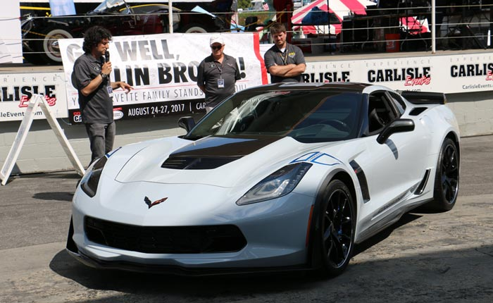 [VIDEO] The 2018 Corvette Presentation and Sebring Orange Reveal at Carlisle