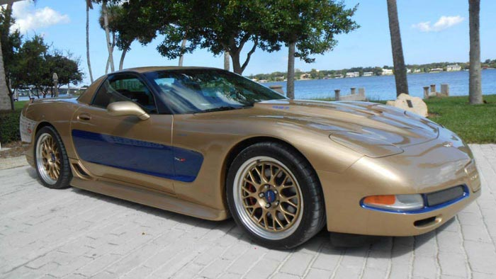 rare dick guldstrand 2003 50th anniversary 427 corvette. Black Bedroom Furniture Sets. Home Design Ideas