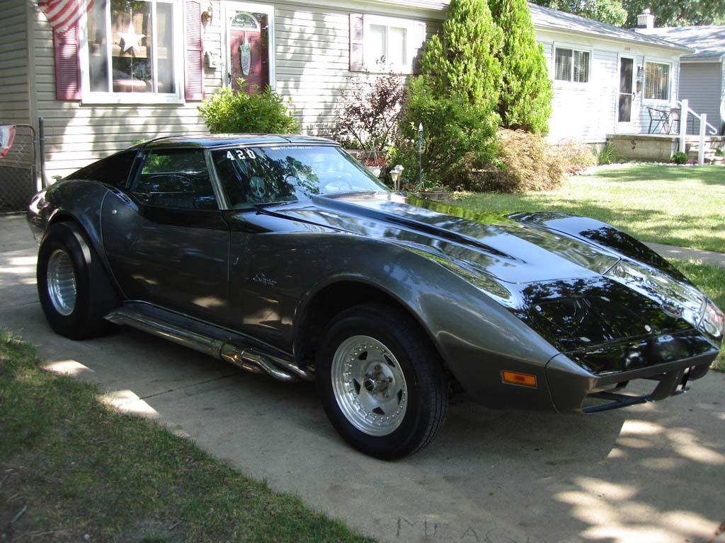 Corvettes On Ebay Ecklers Custom 1973 Corvette Hatchback