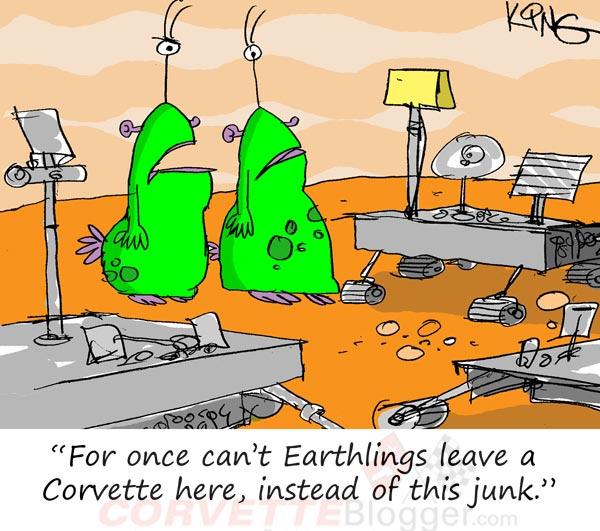 Saturday Morning Corvette Comic: The Ultimate Halftime Show