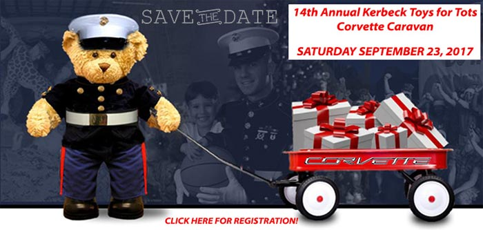 Join Miss America 2018 at Kerbeck's Toys for Tots Corvette Caravan