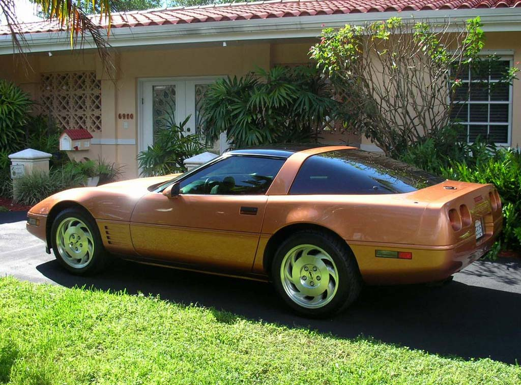 Corvettes On Craigslist Rare Copper Metallic 1994