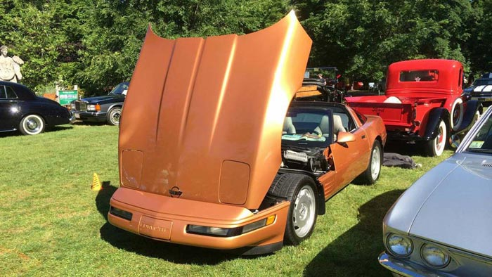 Corvettes on Craigslist: Rare Copper Metallic 1994 Corvette Coupe