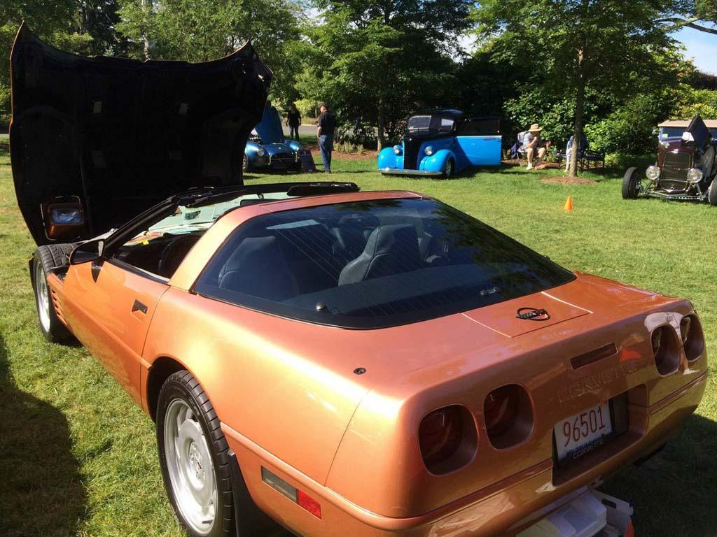 Corvette 1994 chevy corvette : Corvettes on Craigslist: Rare Copper Metallic 1994 Corvette Coupe ...