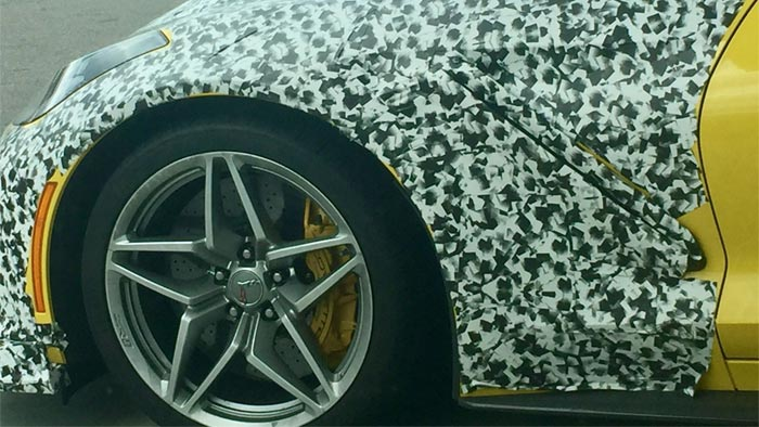 [PICS] Looks Like the 2018 Corvette ZR1 Will Have An Exposed Supercharger