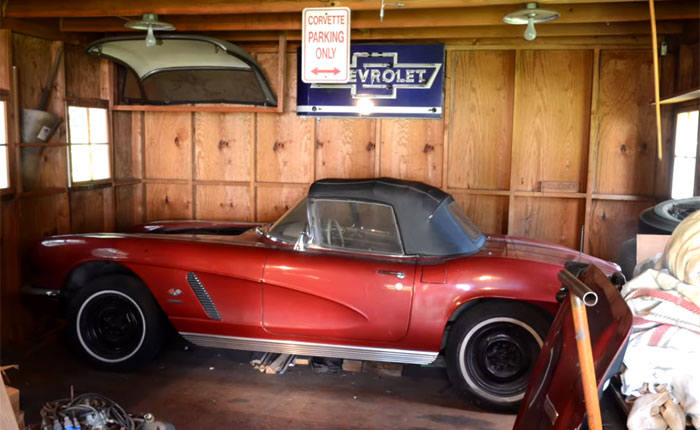 [VIDEO] 1962 Corvette Fuelie Barn Find has been Sleeping for 50 Years