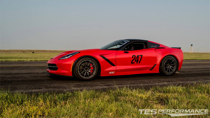 [VIDEO] A 2014 Corvette Claims Title of 'World's Fastest C7' at the Colorado Mile