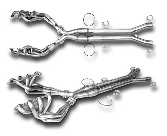 American Racing Headers for C6 Corvette Available at Southern Car Parts