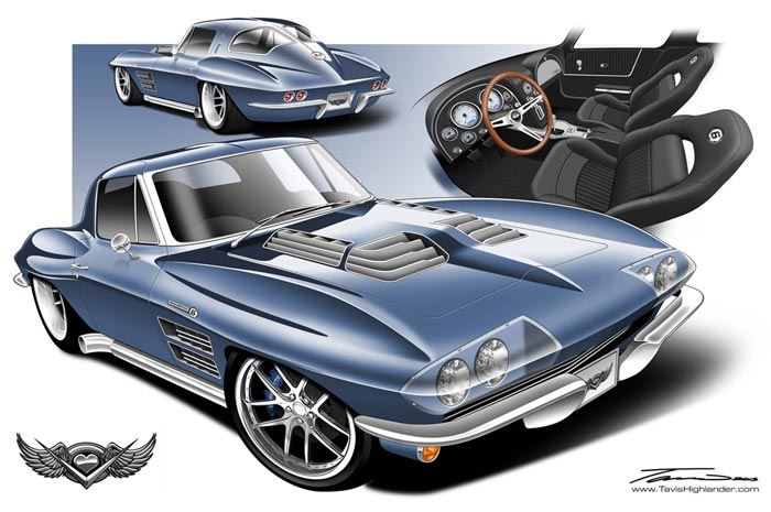 Heartland Customs to Reveal a Custom 1963 Corvette Grand Sport at SEMA