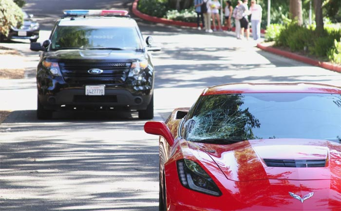 [STOLEN] Teenage Car Thief Captured After Crashing C7 Corvette While Running from LAPD