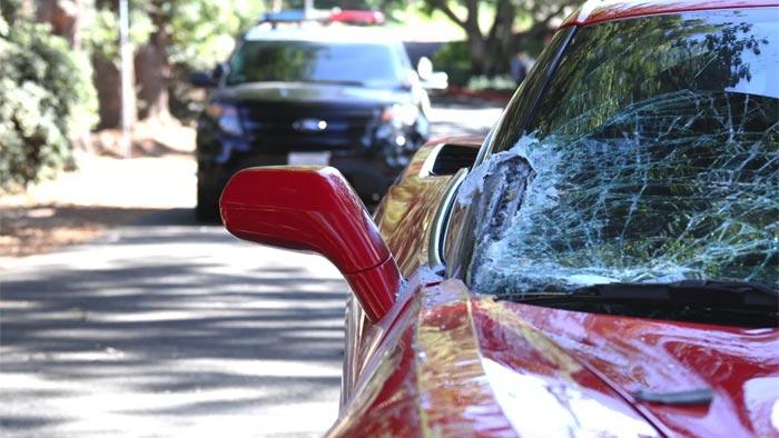[STOLEN] LAPD Recovers a Stolen C7 Corvette After Teenage Car Thief Tries to Run