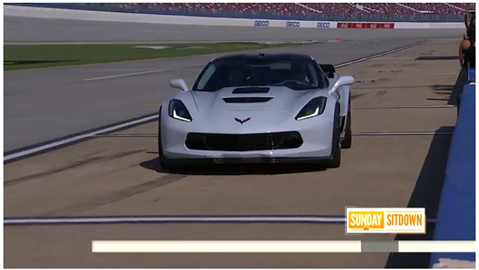 Dale Jr Drives a Callaway SC757 to 180 MPH at Talladega Speedway on NBCs TODAY Show