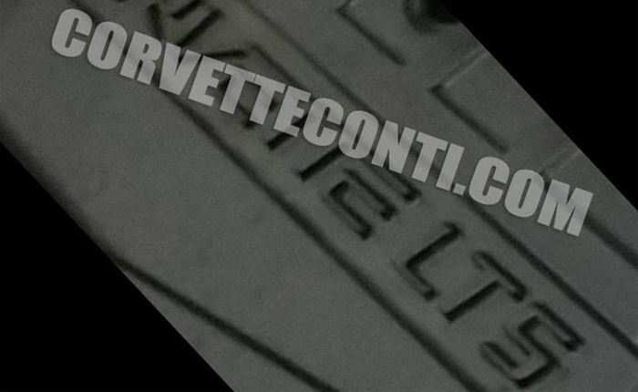 [PIC] Photo of the Corvette ZR1's LT5 Engine Cover Leaked