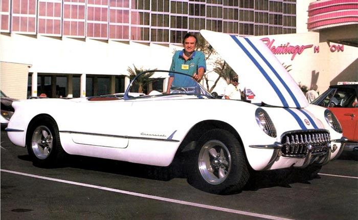 Corvettes on eBay: Is this Robert Clift's 'White Mule 54' from Corvette's Early Days?