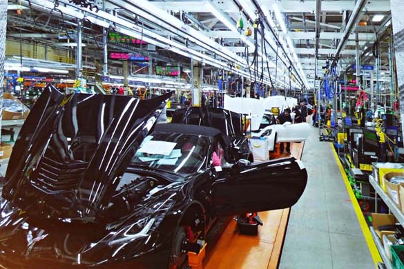 [PICS] First Look at the Corvette Factory's New Assembly Line