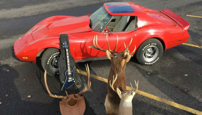 [STOLEN] Washington Police Recover a Stolen 1977 Corvette and Other Artifacts