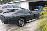 Corvettes on eBay: Plasti-Dipped 1976 Greenwood Turbo GT