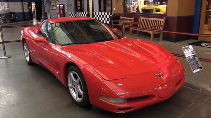 [VIDEO] C5 Corvette with 773,338 Original Miles Donated to the Corvette Museum