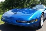Quasar Blue Corvette