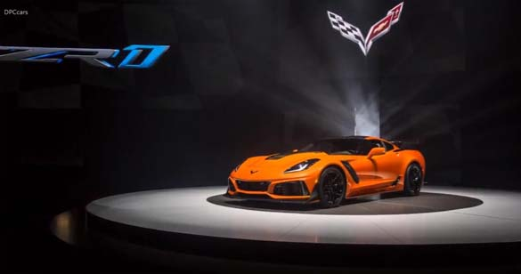 More from the 2019 Corvette ZR1 Reveal in Dubai