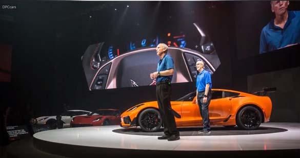 More from the 2019 Corvette ZR1 Reveal in Dubai