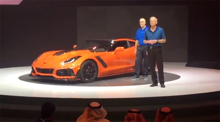 [VIDEO] Watch Tadge Juechter's Corvette ZR1 Presentation From Dubai