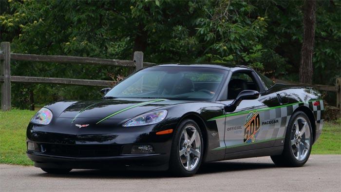 2008 Corvette Coupe Pace Car