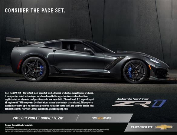 2019 Corvette ZR1 Hero Card