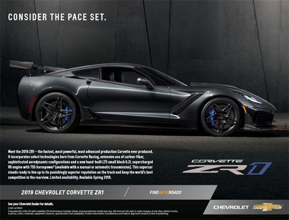 2019 Corvette ZR1 Hero Card