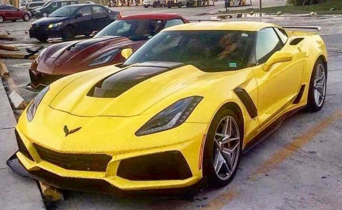 [PICS] The 2019 Corvette ZR1 Prototypes Shed Their Camouflage Coverings in Public