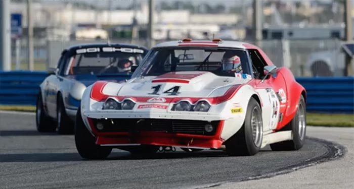 [VIDEO] Watch This In-Car View of a 1969 Corvette L88 at  Daytona's Classic 24 Hour