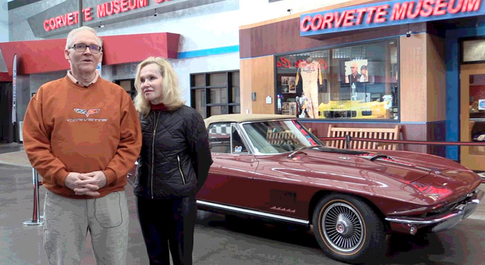 [VIDEO] 1967 Corvette Sting Ray Donated to the National Corvette MuseumE