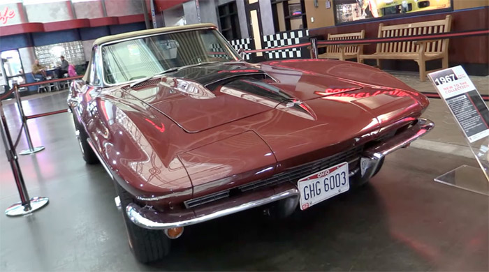 [VIDEO] 1967 Corvette Sting Ray Donated to the National Corvette Museum