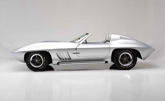 Fiberfab Centurion Corvette Headed to Barrett-Jackson Scottsdale