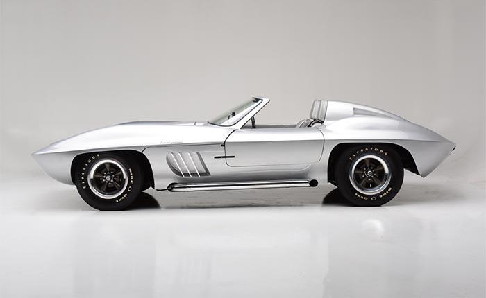 This Centurion Fiberfab Corvette sold for $91,000 at Barrett-Jackson's 2018 Scottsdale Auction