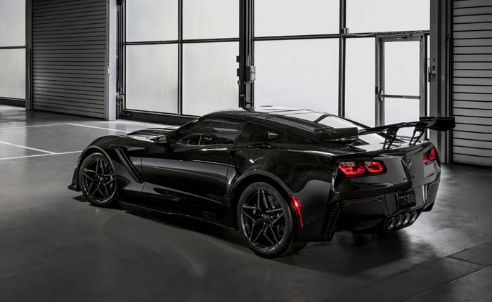 Chevrolet to Offer the First Retail 2019 Corvette ZR1 For Auction at Barrett-Jackson Scottsdale ...