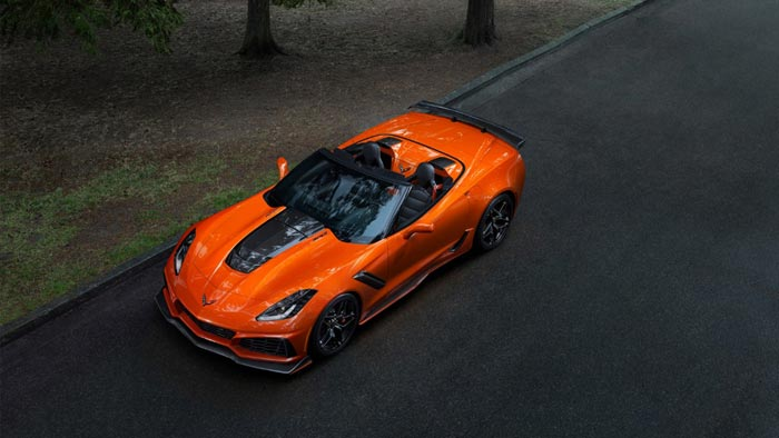 2019 Corvette ZR1 to MSRP starting at $119,995